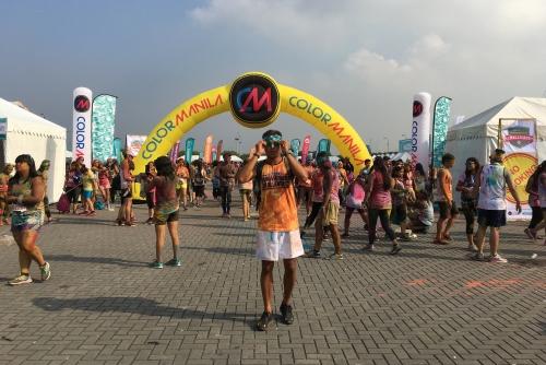 We are the #WatsonsSunWarriors (Color Manila Run x Watsons)