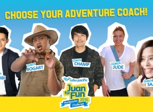 Cebu Pacific Juan for Fun Backpacking Challenge 2016