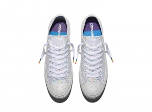The New Rainbow design Chuck Taylor sneakers