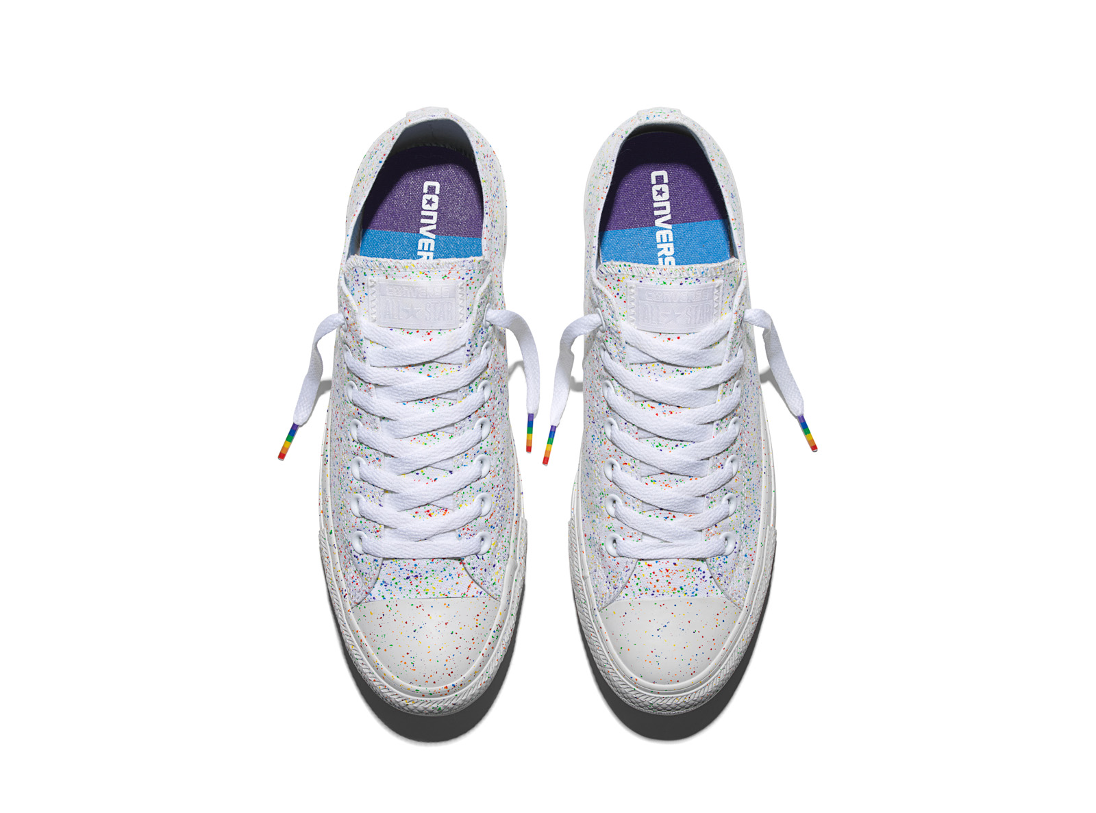 515205d3d0c3 The New Rainbow design Chuck Taylor sneakers. 11Jun 2016