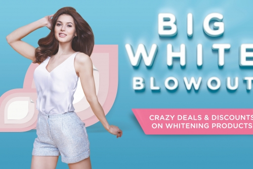 More Whitening products at this years The Big White Blowout Sale by Watsons