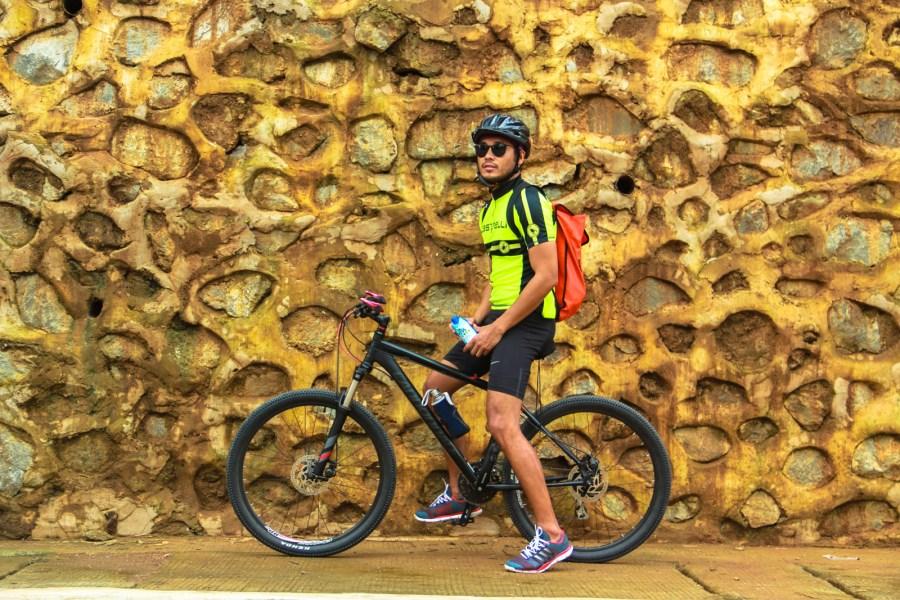 biking at hinulugang taktak (1 of 1)