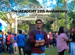 Cosmic: The iACADEMY 15th Anniversary Kick-off Celebration