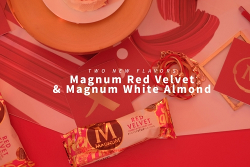 Indulge with the New Magnum Red Velvet & Magnum White Almond + Win exclusive pieces from the #NeverStopPlaying collection