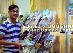 Gone Exploring at the Paez x Doughnut's Gear Up and Explore event at Ayala Malls the 30th