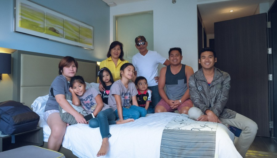 flordeliz family at blemont hotel