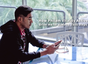 How Philam Vitality Active App drive me to achieve 7500 steps daily