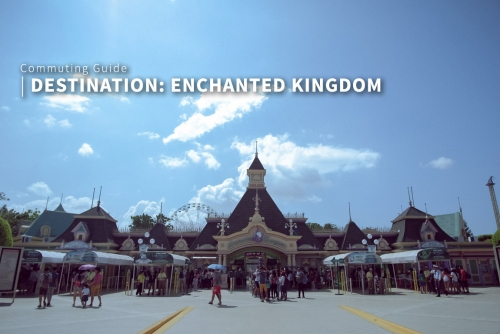 Commuting Guide: How to go to Enchanted Kingdom, Sta. Rosa Laguna?