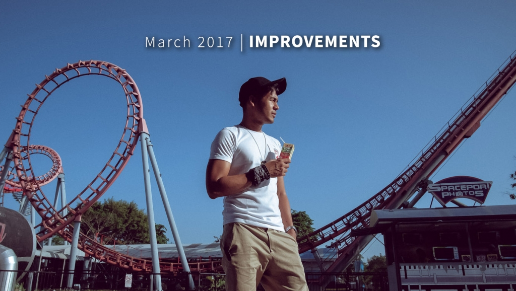 March 2017 – Improvements