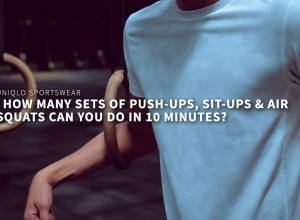 7 sets of Push-ups, sit-ups and air-squats in 10 minutes! Beat that!