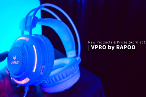 Rapoo's VPRO Newest Product lineup + Product Prices