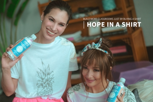 Help Build more Classrooms through 'Hope in a Shirt' #SolennArtxHope