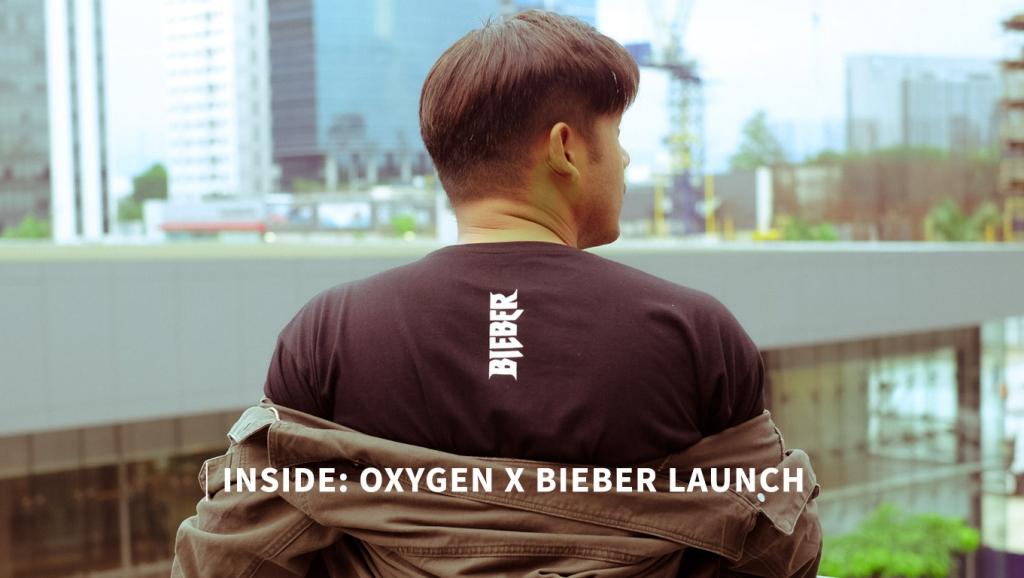 INSIDE: Oxygen x Bieber Collection