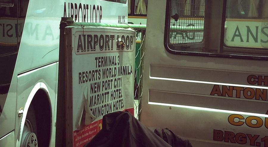 commuting to Naia Terminal 3