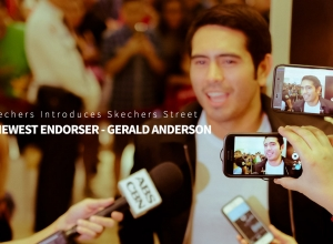 Inside: Skechers Introduces Skechers Street + Newest Endorser – Gerald Anderson