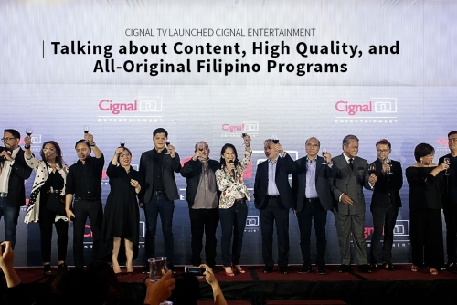 Talking about Content, High Quality, and All-Original Filipino Programs at Cignal TV