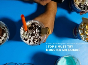 Top 5 must try Milkshake at Monster Milkshake in Ayala Mall Vertis North