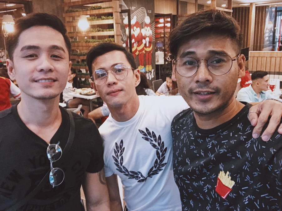 with Gelo and Mark Lua