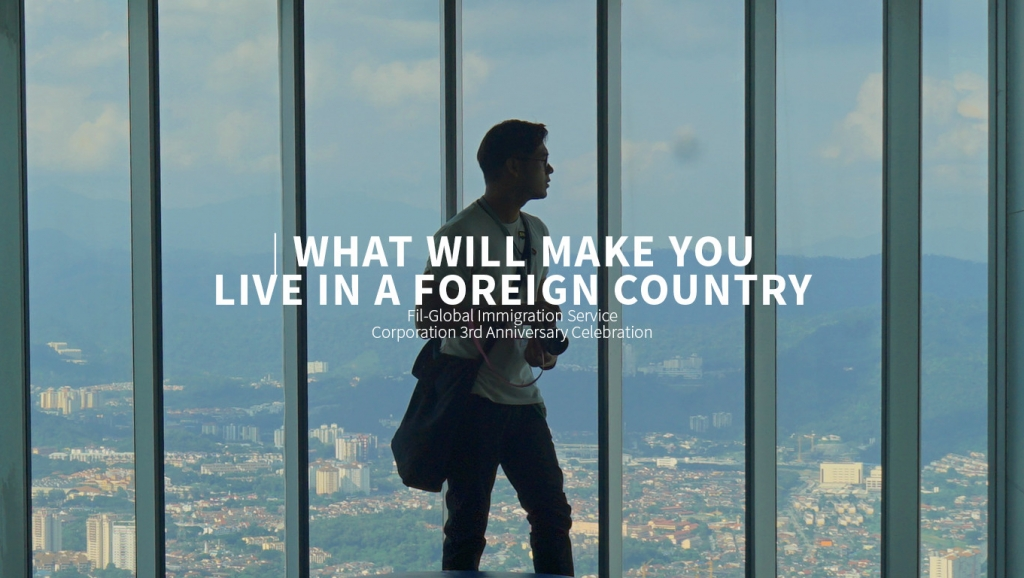 What will make you live in a foreign country?