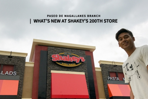 What's new at Shakey's 200th store (Paseo de Magallanes Branch in Makati City)