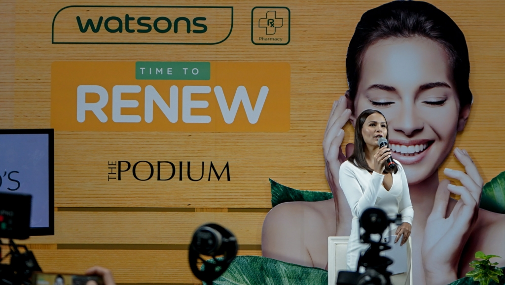 """Recharging health and beauty made easy through the  """"Time to Renew"""" campaign by Watsons"""