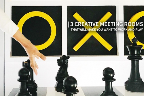 3 Creative Meeting Rooms that will make you want to Work and Play (TELUS International Philippines)