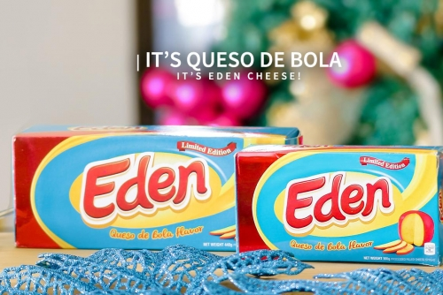 Yes, It is Queso de Bola. Yes, It is Eden Cheese!