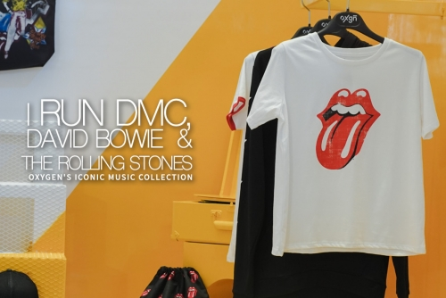 Run DMC, David Bowie, & The Rolling Stones for Oxygen's Iconic Music Collection