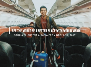 Book a Flight via AirAsia and 'See the World' be a better place with World Vision