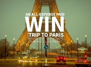 "Win an all-expense paid trip to Paris with Goya: ""Get a Taste of World Class Promo"""