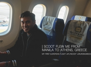 My First European Flight via Scoot Airlines + Budget Traveling from Manila to Athens starting at Php 10,795!