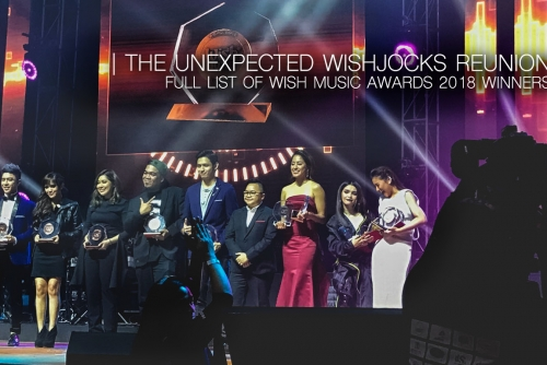 Full list of #WishMusicAwards2018 Winners +  The Unexpected WishJocks Reunion