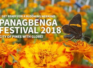 Get ready for a blooming weekend at Panagbenga Festival 2018 with Globe