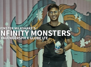 Monster Milkshake Unleashes Infinity Monsters + Globe LTE Avengers:Infinity War Screening