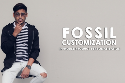 Inside: FOSSIL Philippines In-House Product Personalization launch