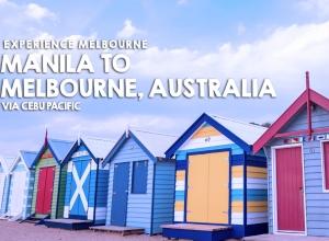 Experience Melbourne and fly via Cebu Pacific