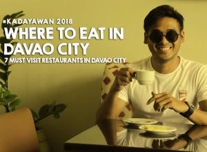 Where to EAT IN DAVAO CITY (Kadayawan Festival 2018)