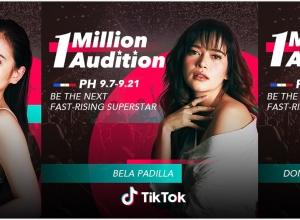 Bela Padilla, Ella Cruz, Donnalyn Bartolome lead TikTok's 1 Million Audition in the Philippines