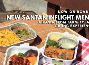 Now on Board: New Santan Inflight Menu + AirAsia From Farm-to-Air Dining Experience