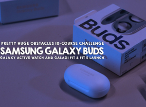 SAMSUNG Galaxy Buds, Galaxy Watch Active & Galaxy Fit launched via an obstacle course challenge at Pretty Huge Obstacles