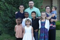 Wilsons at Communion