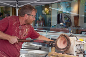 Andy Cole, Honolulu Woodturners show at Nohea Gallery