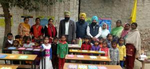 Subdivision made by Deputy District Education Officer, Sukhwinder Singh