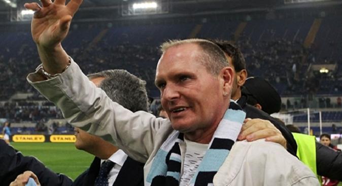 Gascoigne Lazio Tottenham