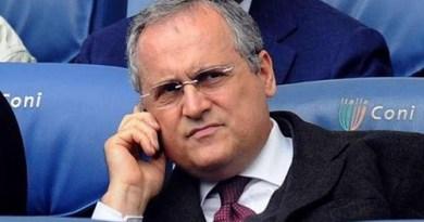 """Lazio, Lotito: """"Esprimo la più totale ed incondizionata solidarietà a Gabriele Paparelli"""""""