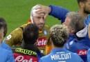 Napoli-Udinese: brutto infortunio per Ospina. Sviene in campo. Meret al suo posto