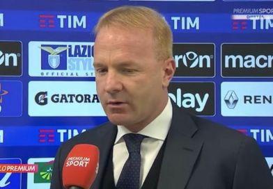 """Lazio-Cagliari, Tare: """"Gli episodi ci hanno condannato"""""""