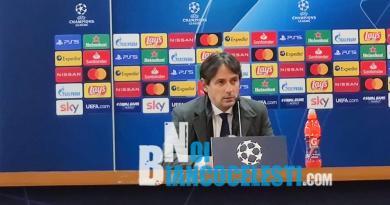 """Lazio-Roma, Inzaghi in conferenza stampa: """"Una vittoria che dedichiamo ai tifosi, unici nel caricarci prima del derby"""""""