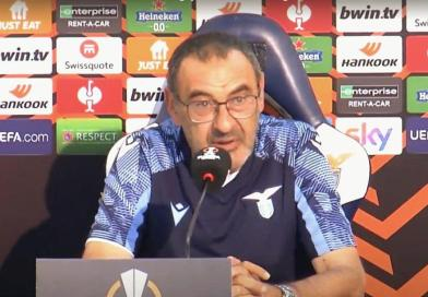 Verona – Lazio, confronto Sarri calciatori a fine gara – LA SITUAZIONE