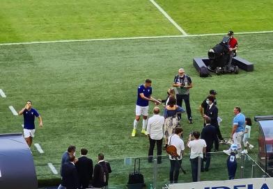 Lazio-Cagliari, Milinkovic fa 250 e viene premiato